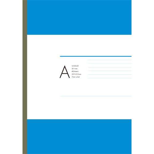 カウネット オリジナルノート A4 A罫 40枚 80冊