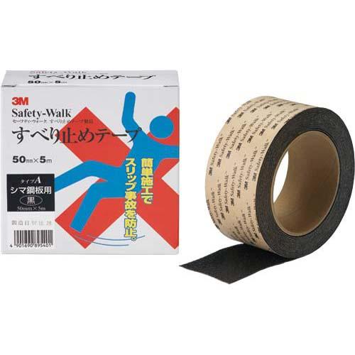スリーエムジャパン セーフティ・ウォーク 凹凸面用 黒 5m 6巻