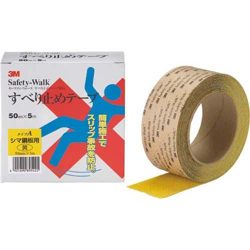 スリーエムジャパン セーフティ・ウォーク 凹凸面用 黄 5m 6巻