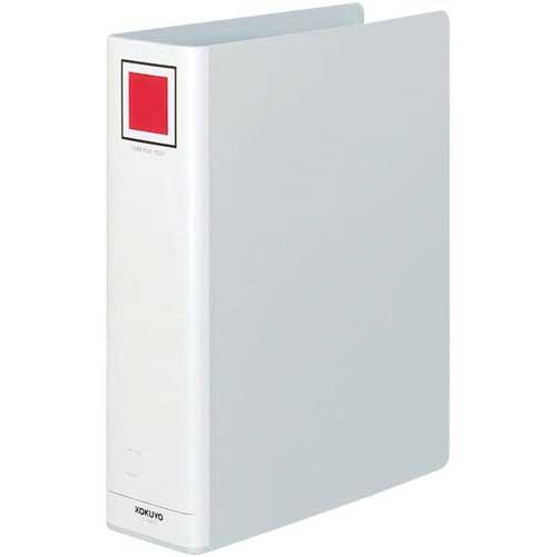 コクヨ チューブファイル<エコ>銀A4縦背幅85mm20冊