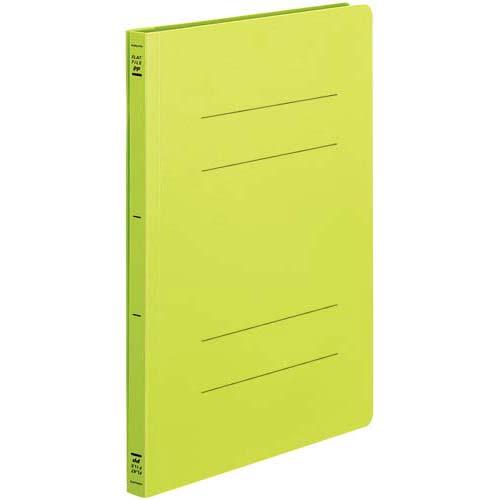 コクヨ フラットファイル<PP> A4縦 黄緑 100冊