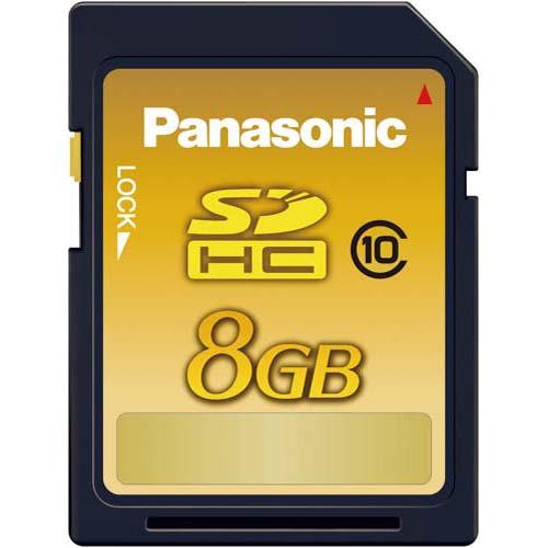 パナソニック SDHCカード Class10 8GB×5