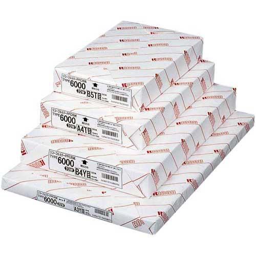 リコー PPC用紙タイプ6000 70WA3 250枚×5関連ワード【コピー用紙 印刷用紙 プリンター用紙】