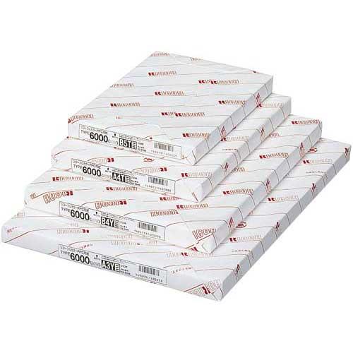 リコー PPC用紙6000 90W A4 200枚×10関連ワード【コピー用紙 印刷用紙 プリンター用紙】