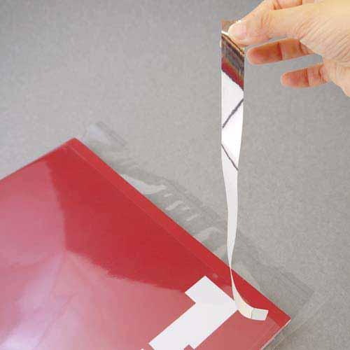 フロンティア OPP袋テープ付アルミ剥離紙A6ハガキ用