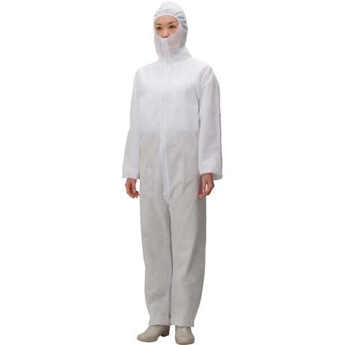 川西工業 不織布つなぎ 防塵タイプ 3L×30