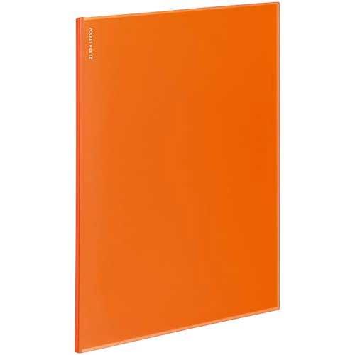 商品合計金額3000円 税込 以上送料無料 コクヨ 公式 ポケットファイルα12ポケット OUTLET SALE ノビータα 橙