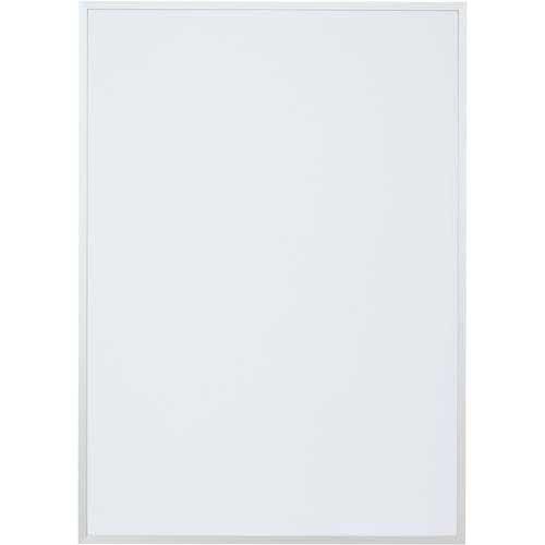 カウネット ポスターパネル A1 シルバー×12枚 | ポスターフレーム 壁掛け 掲示用 アルミフレーム ディスプレイ ディスプレー UVカット加工 ポスターパネル ポスター パネル フレーム 額縁 A1 サイズ カウモール