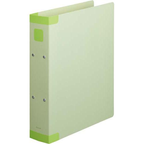 「カウコレ」プレミアム 保存ファイル背補強タイプ緑A4縦背幅67mm60冊 | ファイル フォルダ 文具 文房具 収納 整理 書類 収納 書類整理 仕分け ステーショナリー 事務用品 A4