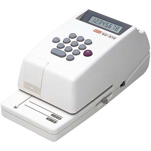 マックス 電子チェックライターEC-310 8桁