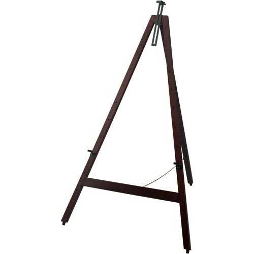 カウネット 木製イーゼル H1160 ダークブラウン 4台 | 画架 店舗用 業務用 看板 スタンド おしゃれ 入口 黒板 ブラックボード カフェ メニュー カウモール