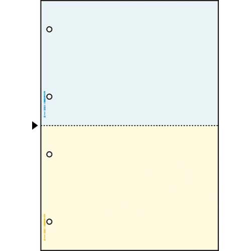 ヒサゴ マルチプリンタ帳票 A4カラー2面4穴 1200枚
