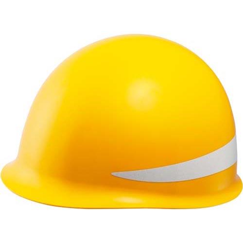 ミドリ安全 カウネット限定 MP型ヘルメット KP付 黄 5個
