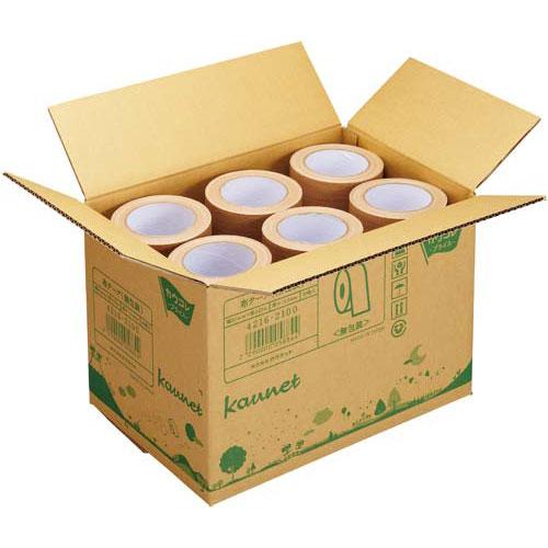 カウネット 布テープ 無包装タイプ 3箱(90巻) | 梱包 梱包資材 テープ 引っ越し 引越し ガムテープ 布 梱包テープ 粘着テープ 作業用品 生活雑貨 まとめ買い カウモール