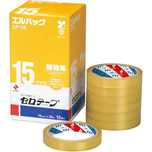 ニチバン セロテープ大巻<エルパック>幅15mm12巻×5