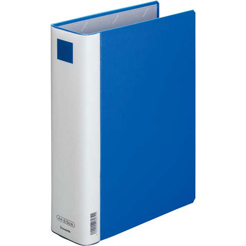「カウコレ」プレミアム 書類が見やすいパイプ式F青A4縦背幅70mm30冊 | ファイル バインダー フォルダ フォルダー 文具 文房具 収納 整理 書類 収納 書類整理 仕分け ステーショナリー 事務用品 A4