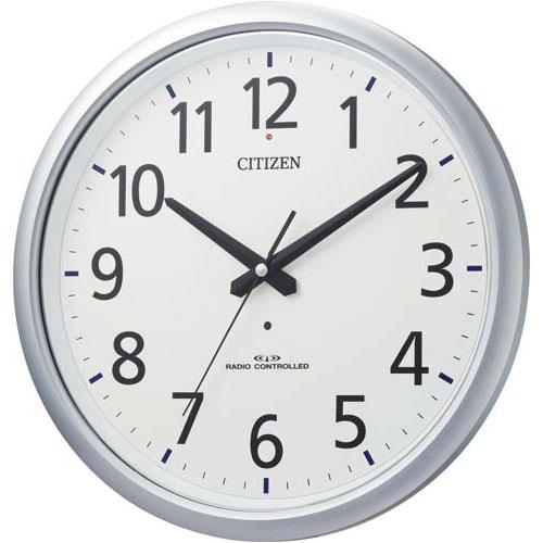 リズム時計工業 シチズン スペイシーアクア493防滴防塵型電波時計