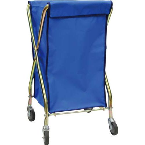 テラモト ダストカート 70L袋ブルー+フレーム