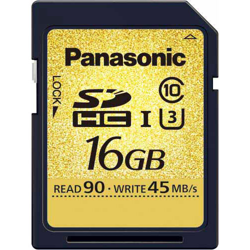 パナソニック SDHCカード UHS-I対応 16GB×3