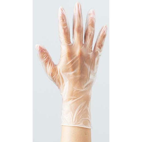 カウネット プラスチック手袋 袋入 粉無M 100枚×60