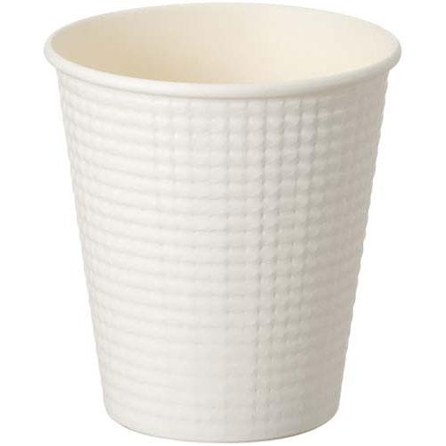 ギフ_包装 商品合計金額3000円 税込 以上送料無料 50個 美品 サンナップ エンボスカップホワイト210ML