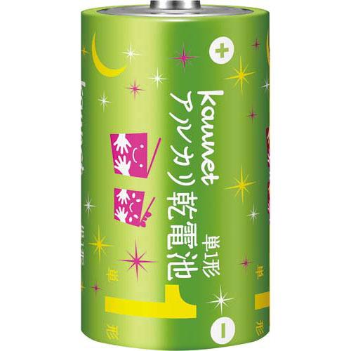カウネット アルカリ乾電池(エコノミータイプ) 単1形200本