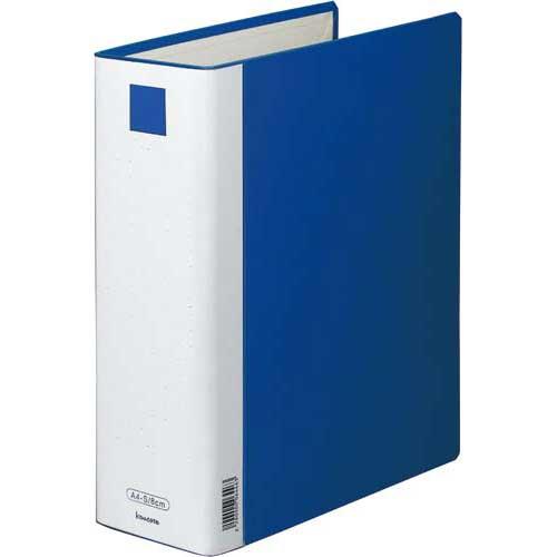 「カウコレ」プレミアム 書類が見やすいパイプファイル青A4縦背幅100mm10冊   カウモール フォルダ ファイル フォルダー バインダー 文具 文房具 収納 整理 書類 収納 書類整理 仕分け ステーショナリー 事務用品 A4