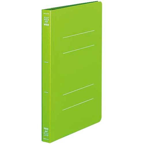 商品合計金額3000円 税込 大人気 以上送料無料 コクヨ メーカー再生品 フラットファイル PP A5縦 黄緑 10冊