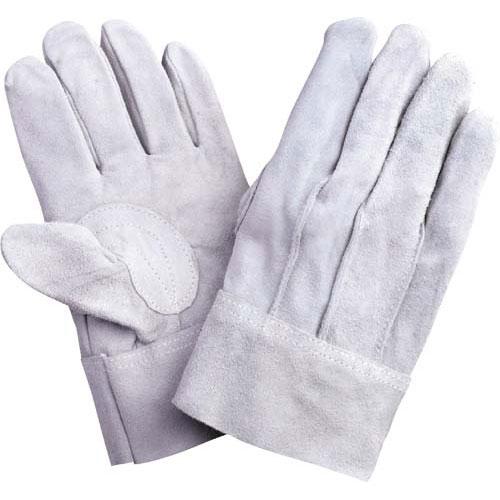 川西工業 牛床革手袋 背縫 12双×10