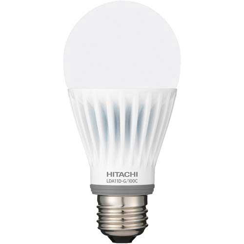 日立アプライアンス LED電球 一般電球 100W相当 昼光色×3