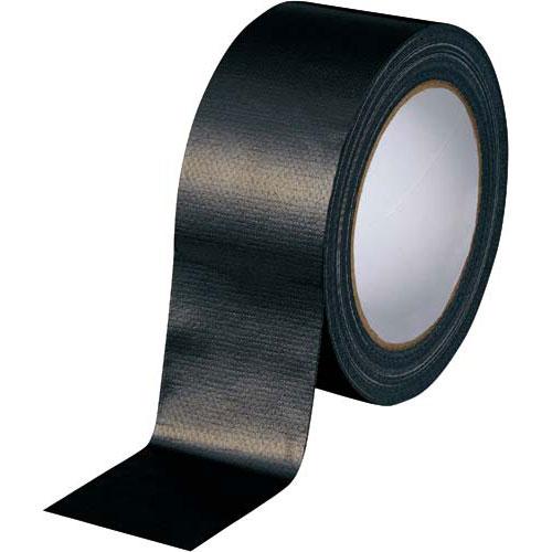 カウネット カラー布テープ 黒 90巻 | 梱包 梱包資材 テープ 引っ越し 引越し ガムテープ 布 梱包テープ 粘着テープ 作業用品 生活雑貨 まとめ買い カウモール