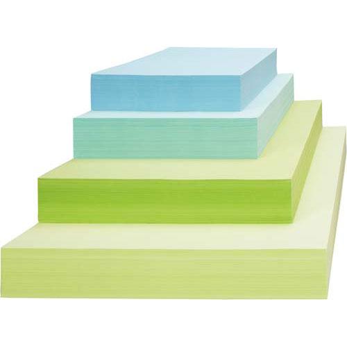 カウネット マルチカラーペーパー B4 グリーン 2箱関連ワード【コピー用紙 印刷用紙 プリンター用紙】