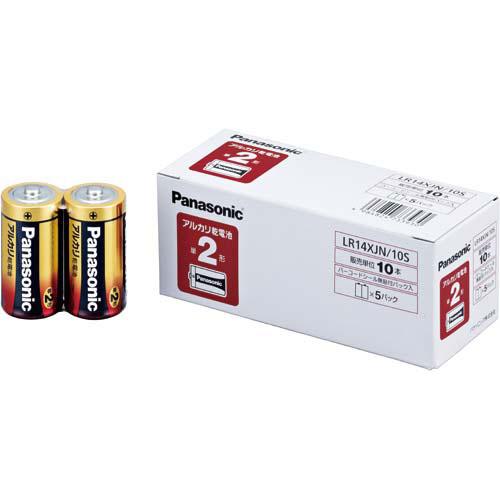 商品合計金額3000円 税込 以上送料無料 パナソニック ついに再販開始 乾電池 アルカリ 単2 Panasonic 10本入 10本入 アルカリ乾電池 単2 大規模セール