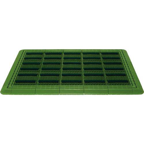 山崎産業 エバックブラシハードマット600×900 グリーン