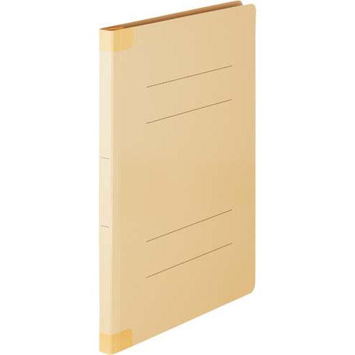 「カウコレ」プレミアム ラベルが剥がし易い背補強フラットファイル黄A4 200冊 | フォルダ ファイル フォルダー バインダー 文具 文房具 収納 整理 書類 収納 書類整理 仕分け ステーショナリー 事務用品 A4
