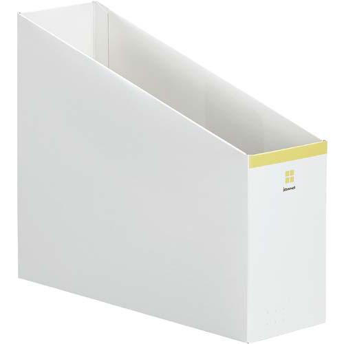 「カウコレ」プレミアム 2WAYファイルボックス ベージュ×50 | 整理箱 ファイル フォルダ ボックス 文具 文房具 収納 整理 書類 収納 書類整理 仕分け ステーショナリー 事務用品