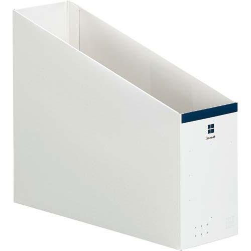 「カウコレ」プレミアム 2WAYファイルボックス ネイビー×50 | 整理箱 ファイル フォルダ ボックス 文具 文房具 収納 整理 書類 収納 書類整理 仕分け ステーショナリー 事務用品