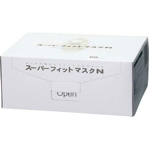 エヌ・ティ・シー NEWスーパーフイットマスクホワイト50枚×20箱