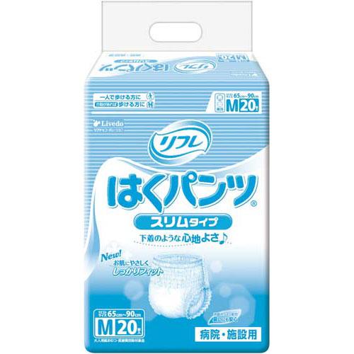 リブドゥ リフレはくパンツスリムタイプ M 20枚×6【取寄商品】