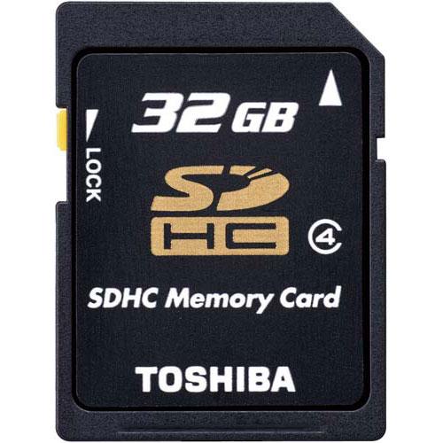 東芝 SDHCカード CLASS4 32GB×3