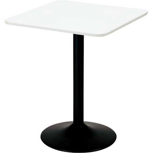 ワールドクラフト カフェテーブル 角型 ホワイト