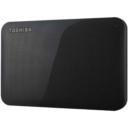 東芝 ポータブルHDD HD-AC 1TB ブラック