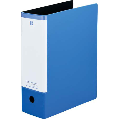 「カウコレ」プレミアム スリットパイプ式ファイル A4縦背幅99mmブルー×30 | ファイル フォルダ フォルダー バインダー 文具 文房具 収納 整理 書類 収納 書類整理 仕分け ステーショナリー 事務用品 A4