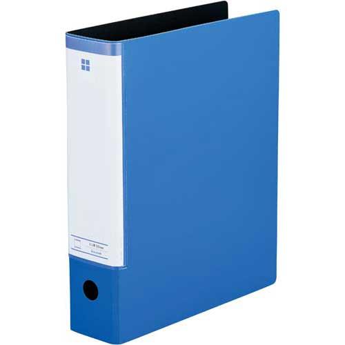 「カウコレ」プレミアム スリットパイプ式ファイル A4縦背幅69mmブルー×30 | ファイル フォルダ フォルダー バインダー 文具 文房具 収納 整理 書類 収納 書類整理 仕分け ステーショナリー 事務用品 A4