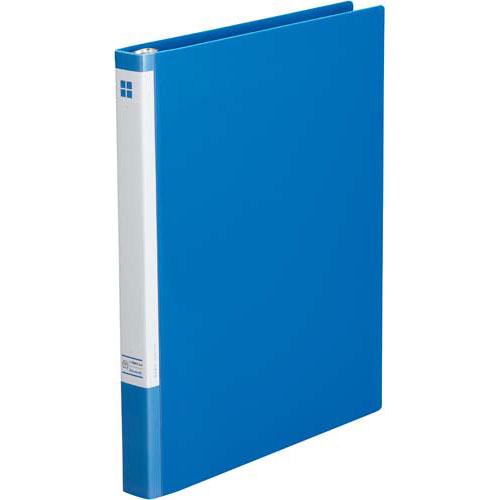 カウネット リングファイル30穴 背幅26mmA4縦 青×20 | ファイル フォルダ フォルダー ビジネス バインダー 文具 文房具 収納 整理 書類 収納 書類整理 仕分け ステーショナリー 事務用品 A4