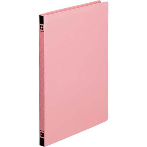 カウネット PPフラットファイル A4縦ピンク 5冊×40 | フォルダ ファイル フォルダー バインダー 文具 文房具 収納 整理 書類 収納 書類整理 仕分け ステーショナリー 事務用品 A4