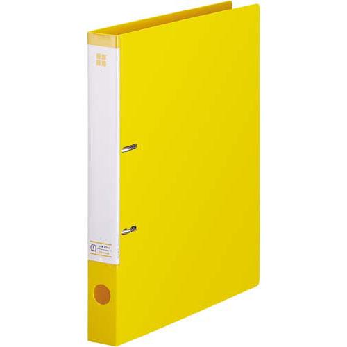「カウコレ」プレミアム マニュアルDリングファイル背幅35mmA4縦 薄黄×30 | ファイル フォルダ フォルダー バインダー 文具 文房具 収納 整理 書類 収納 書類整理 仕分け ステーショナリー 事務用品 A4