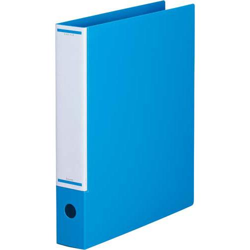 「カウコレ」プレミアム マニュアルリングファイル背幅50mmA4縦Sブルー×30 | リングファイル フォルダ ファイル フォルダー バインダー 文具 文房具 収納 整理 書類 収納 書類整理 仕分け ステーショナリー 事務用品 A4
