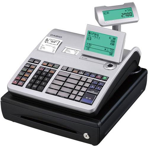 カシオ カシオ電子レジスタTE-2700-20S シルバー