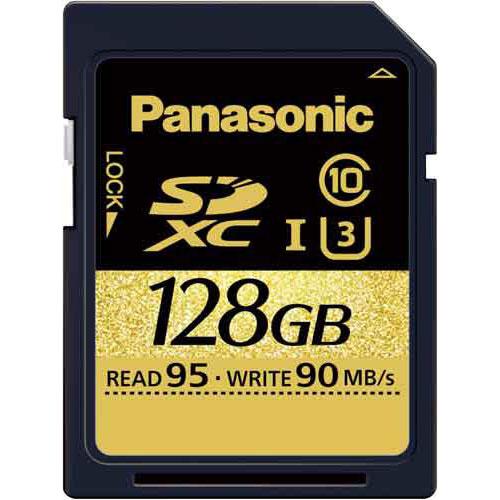 パナソニック SDXCカード UHS-I対応 128GB